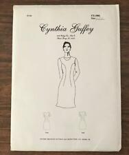 Cynthia Guffey Sewing Pattern CG-1002 Misses' DRESS sz 6, 8, 10