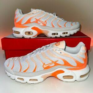 RARE Nike Air Max Plus White Crimson Tint Women's Size 6-10 DM3033 100 NEW