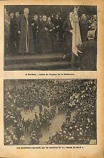 Fédération Catholique/ Ligue Radicale-socialiste de Roubaix 1911 ILLUSTRATION