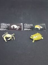 "KAIYODO ChocoQ Magazine Limited Figures Series 9 "" Crab and tortoise """