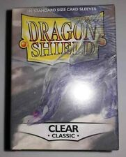 Dragon Shield Classic Clear Standard Size 100pcs Card Sleeves