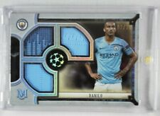 2018-19 Topps Museum Collection Triple Patch Danilo #02/75