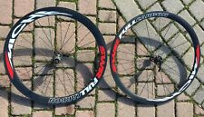 Ruote bici corsa carbonio Miche SWR FULL CARBON tubolari road bike wheelset