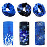 Face mask Bandana Neck Gaiter Headband Seamless Scarf Sun UV Protection 6pcs
