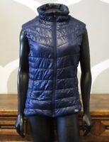 FILA Blue Full Zip Athletic Puffer Vest - Medium