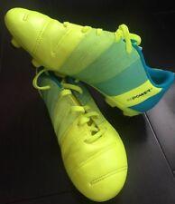 Puma EVO Power 4 Fashion Soccer Shoes Cleats Size 6c Kids Yellow/ Blue