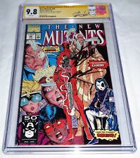 New Mutants #98 CGC SS 9.8 Double Cover 1st DEADPOOL 2x Signed STAN LEE LIEFELD
