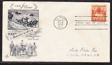 """USA """"Artcraft"""" 1948 Fort Bliss Anniversary   First Day Cover Addressed"""