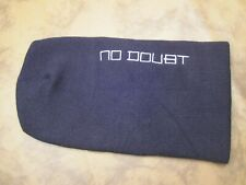 No Doubt,Embroidered,Stocking,Hat, Knitted, Black,Winter,100% Acrylic, New