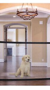 Dog / pet  Portable Folding mesh gate