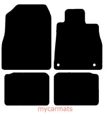 Nissan Micra (2017 To Present) New Fully Tailored Car Floor Mats Black Carpet