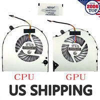 NEW CPU/GPU Cooling Fan For EVGA SC15 Gaming Laptop PLB07010S05M