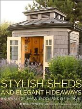 Stylish Sheds and Elegant Hideaways: Big Ideas for Small Backyard-ExLibrary