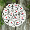 "12  Love to Knit Pins 1 1/4"" Pinback Buttons Party Favor Gift New USA Knitting"