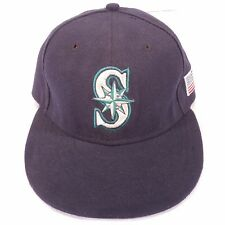 2dfd817cbce SEATTLE MARINERS usa flag New Era Baseball Hat Cap Fitted Size 6 7 8 good