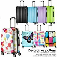 4 Wheel Super Lightweight Hard Shell ABS PC Trolley Cases Hand Suitcases Luggage