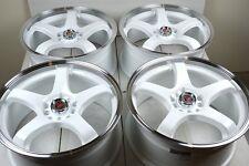 17 white Wheels V60 C70 Aura Ion Redline Sable MKZ HHR MKC CMAX 5X108 5X110 Rims