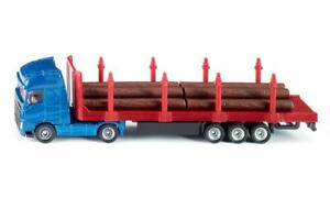 Siku 1659 - Volvo FH04  with Forestry Log Transporter Trailer - H0 Scale  1:87