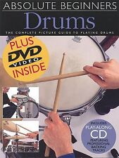 Absolute Beginners Drums Book CD DVD Value Pack 014000993