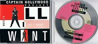 Captain Hollywood Project - All I Want -  Maxi CD -