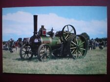 POSTCARD  WANTAGE TRACTION ENGINE NO 1348 BUILT 1898