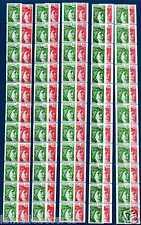 SABINE de GANDON 10 Roulettes de 11 timbres Complet **