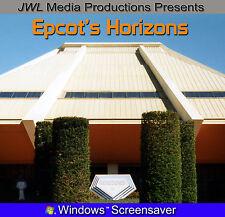 Epcot Horizons Screensaver Photo CD Walt Disney World