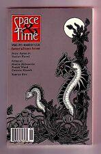 SPACE & TIME #85 (Spring 1995/dark fantasy & horror fanzine/vampire quiz)