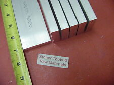 "6 Pieces 1/2""x 2"" ALUMINUM FLAT BAR 7"" long 6061 .500"" Solid Plate Mill Stock"