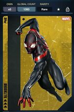 Topps Marvel Collect SPIDER-MAN 5 BOROUGHS Miles Morales Gold [DIGITAL]