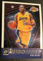 2018-19 Donruss Optic Retro Series #23 Kobe Bryant GEM MINT INSERT Lakers