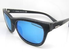 Stunning Diesel Sunglasses DL0111/S 01X Black Blue Mirror Authentic Shades New