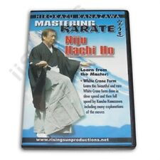 Mastering Karate #6 Niju Hachi Ho White Crane Form Hirokazu Kanazawa Dvd #Rs 168