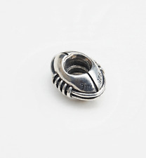 "Genuine Pandora Charm ""American Football or Rugby Ball""  790384 - retired"