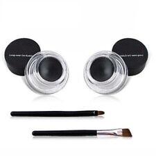 Eyeliner 2in1 Coffee+Gel Noir Cosmétique étanche Eye Liner Maquillage Delineador