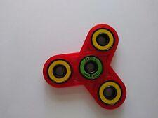 Fidget Spinner, Red 3D Printed, Hand spinner, Fidget toy