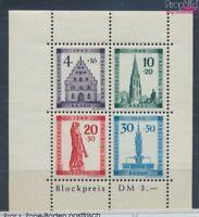 Franz. Zone-Baden Block1A postfrisch 1949 Freiburg (7578191