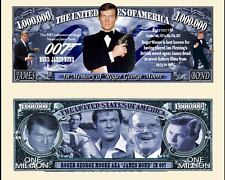 JAMES BOND ROGER MOORE BILLET MILLION DOLLAR US Collection 007 Acteur Film Serie