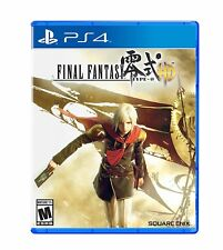 Final Fantasy Type-0 HD [Sony PS4 PlayStation 4, Square Enix, RPG, Type-O] NEW