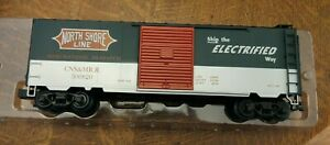Weaver Quality Craft, North Shore Boxcar, 3-rail car U2149lD #500820 New Car