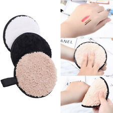 Microfiber Face Cleaner Makeup Remover Towel Plush puff Cleansing Cloth Pads SW