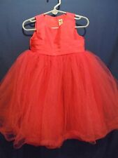 Cherokee Toddler Girl's Sleeveless Dress Pink Tulle 2T Wedding Party Dress