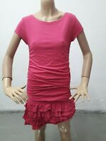Vestito RALPH LAUREN Donna Dress Woman Veste Femme Taglia size M Rosa 8609