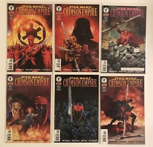 Star Wars Dark Horse Crimson Empire Series 1-6 Complete 1 2 3 4 5 6 A+ Lot