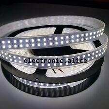 Double Row 1M/240leds 5M/1200Leds 2835 Warm Cool white LED Strip Light DC12V