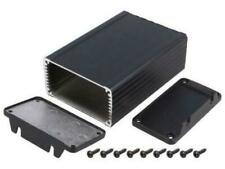 HM-1457K1202EBK Enclosure shielding 84mmx120mmx44mm aluminium black
