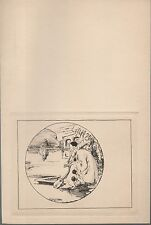 gravure eau-forte de Georges VILLA.Pierrot