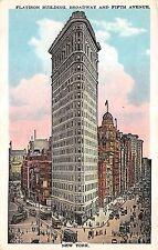 B2066 United States New York Flatiron Building   front/back scan