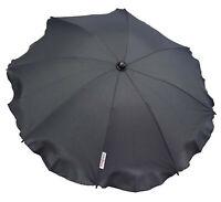 Universal Baby Parasol Umbrella Fit Quinny Buzz/Zapp pram/stroller Graphite