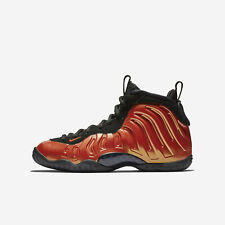 "YOUTH Nike Little Posite One (GS) ""Habanero"" Size-5Y Red Black (644791 603)"